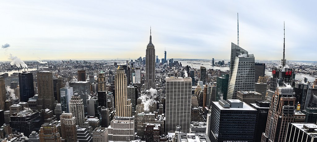 New York - Empire State Building Panorama