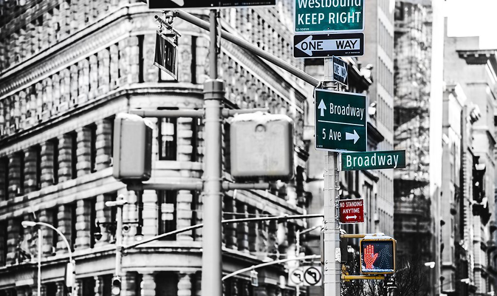 New York - ONE WAY