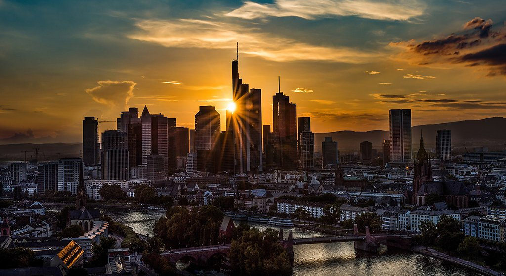 Mainhattan sunset